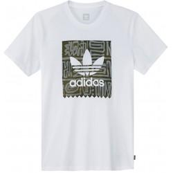 T-Shirt Adidas Skateboarding Dakari White