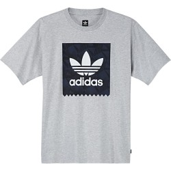 T-Shirt Adidas BB Print Grey Heather