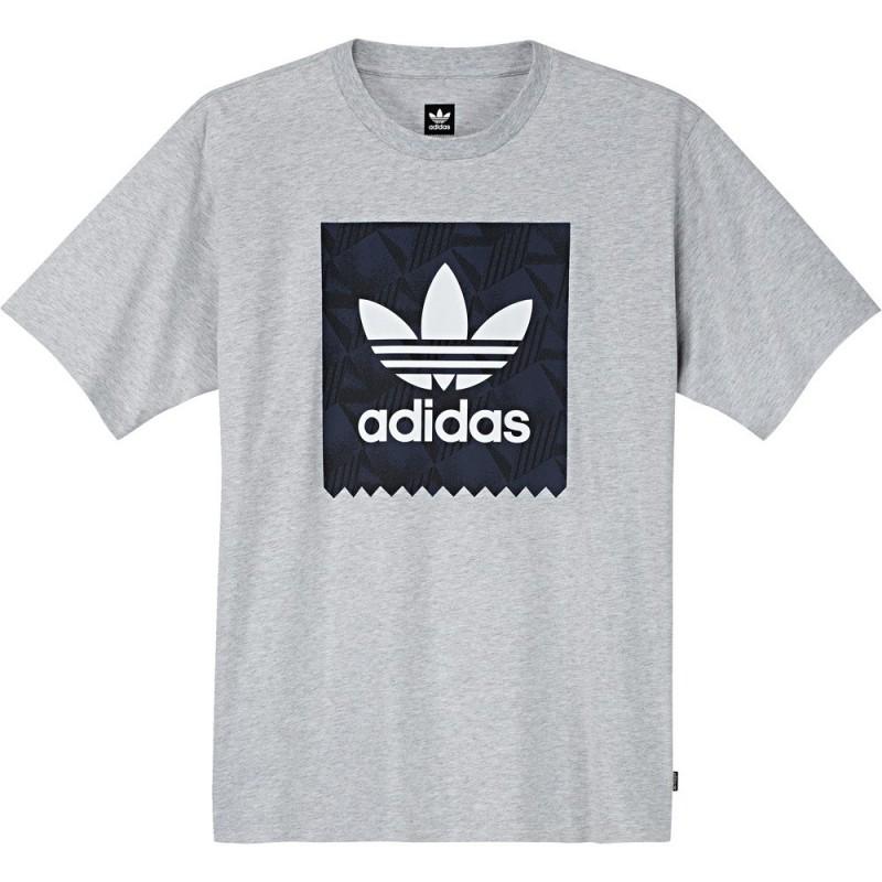T-Shirt Adidas BB Print Grey Heather